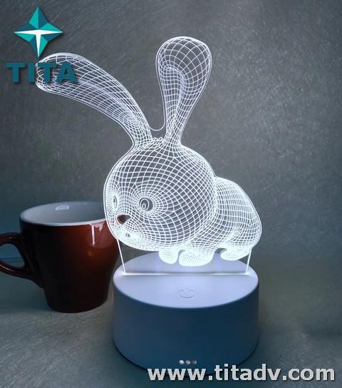 Đèn LED 3D trang trí